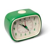 Retro Wecker bakelike Green 22726